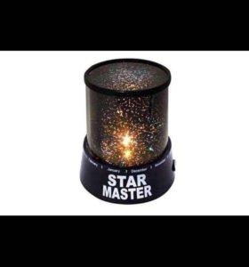 Светильник-проектор звездное небо