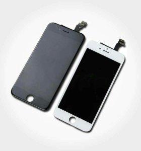 Аккумуляторы и дисплей для iPhone и не только)