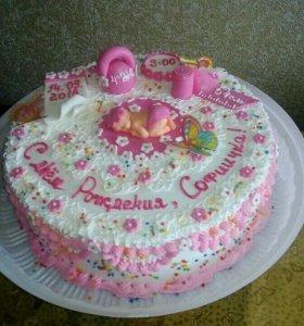 Пеку вкусные и красивые торты.