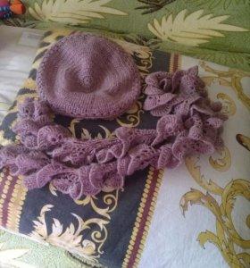 Беретик и шарфик