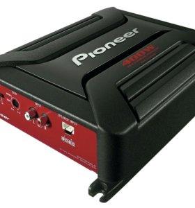 Сабвуфер Soni Xploid 1500вт + усилитель pioneer