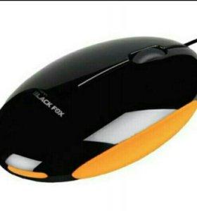 USB мышь Black FOX
