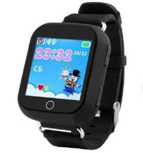 Подростковые GPS часы чёрные