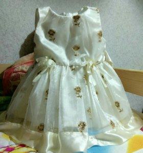 Платье нарядное на 1 годик