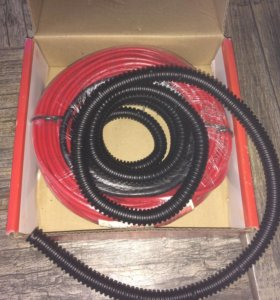 Тёплый пол. Греющий кабель Lavita UHC-20.