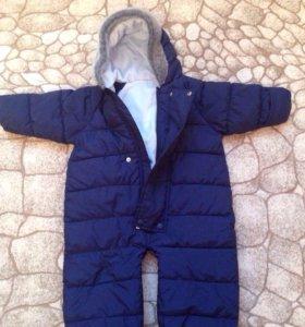Детский комбинезон - трансформер осень- весна.