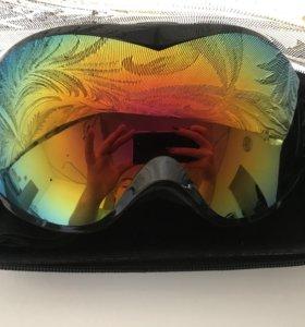 Очки горнолыжные ( сноубордические ) новые