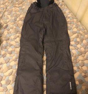 Утеплённые брюки - комбинезон