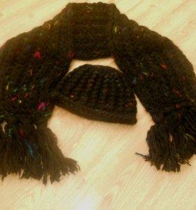 Шапка + шарф