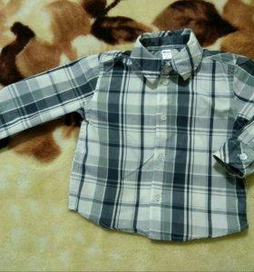 Рубашка 6-12 месяцев