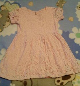 5 детских платьев 104-110