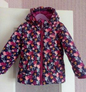 Куртка зимняя 104р