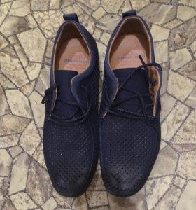 Туфли мужские топсайдеры