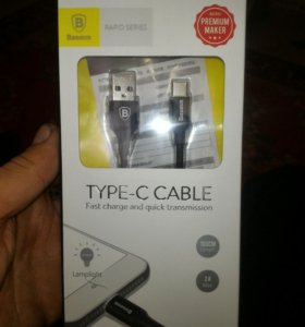 BASEUS USB кабель для Samsung S8 Примечание 8 Тип
