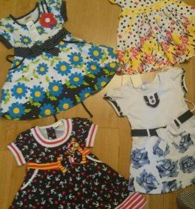 Новые платья на 1-2-3 года