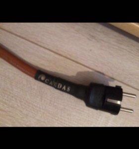 Сетевой кабель cardas cross power. 1,5метра. Б/у