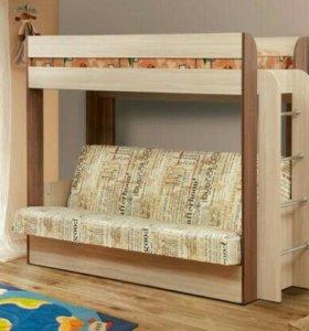 Кровать-чердак + диван НОВИНКА