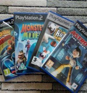 Диск с игрой для приставки PlayStation2