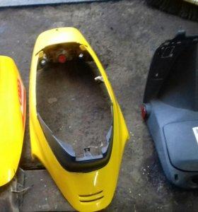 Новый пластик на скутер Abm irbis reggy sky авм bm