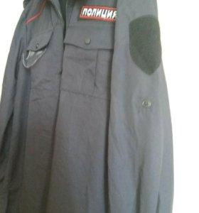 Рубашка с длинным рукавом для сотрудников полиции