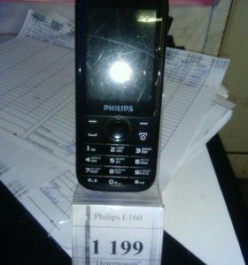 Телефон philips e160