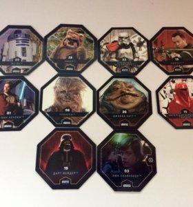 Продам 10 фишек из набора Звёздные Войны