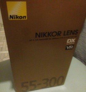 Объектив Nikon AF-S DX 55-300mm f4.5-5.6G ED VR DX