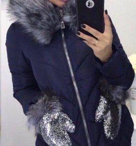 Куртка-пуховик новый
