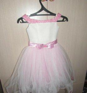 Праздничное платье для девочки 3-5 лет