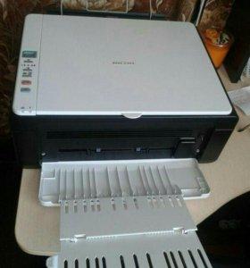 Принтер новый лазерный RICOH SP 100 su