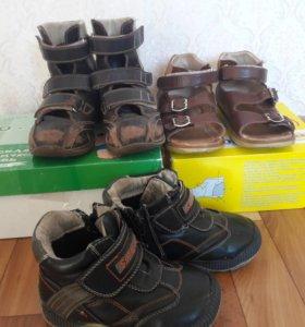 Ортопедические ботинки и сандали