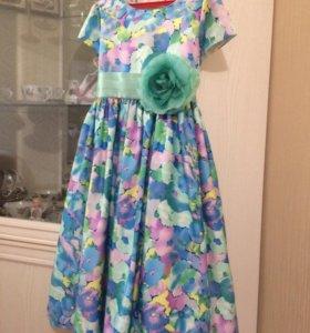 Платье, рост 128-134-140