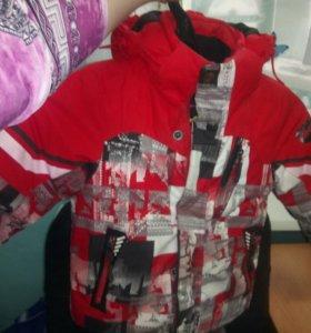 Детская зимняя горнолыжная куртка