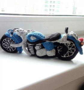 Вязанный мотоцикл