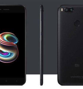 Xiaomi Mi A1 black 4/64gb