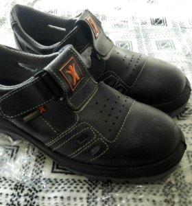 Ботинки рабочие (safety shoes) р42 новые
