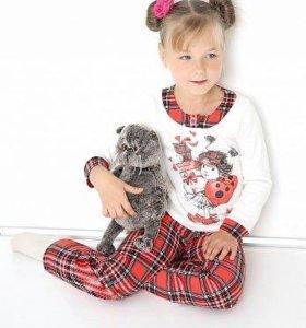 Детская пижама рост 98 см