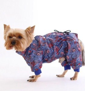 Комбинезон дождевик для собаки