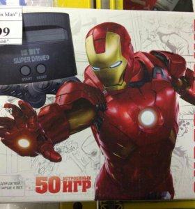 """Игровая приставка Sega """"Iron man"""" (50 встр.игр )"""
