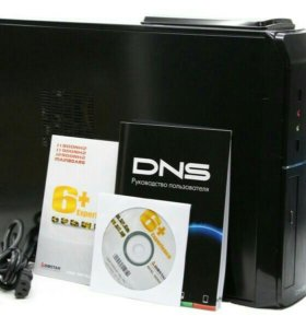 Компьютер DNS, монитор, клава мышь, стол