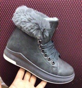 Ботинки Зима. Новые.