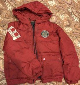 Куртка пуховик Benetton р.140
