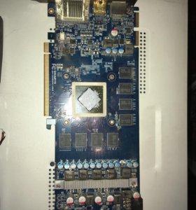 Radeon hd5850 1gb на запчасти
