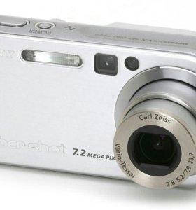 Фотоаппарат SONY Cyber-shot 7,2MEGA PIXELS