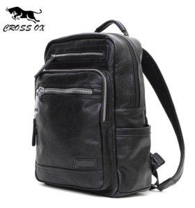 !SALE! Модный кожаный рюкзак CROSS OX