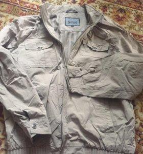 Куртка ветровка. Р 56