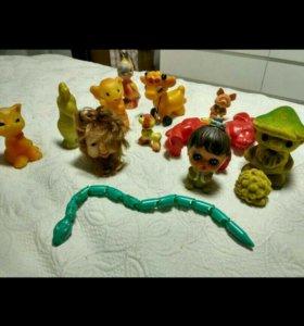 Советские игрушки 14 штук
