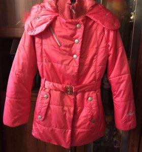 Куртка на девочку, очень теплая