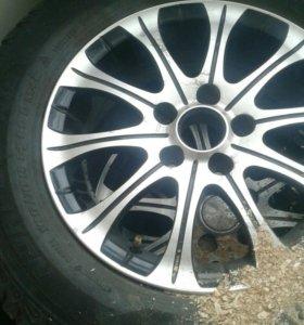 Шины зимние комплект 4 колеса