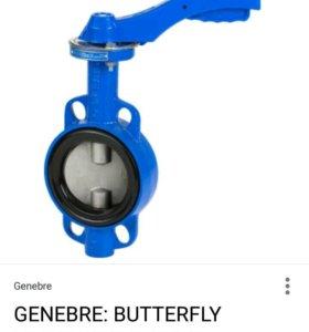 Вафельный клапон-бабочка